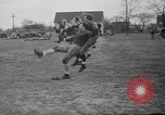 Image of American football players South Bend Indiana USA, 1935, second 10 stock footage video 65675055158
