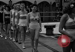 "Image of Grayce Reilly crowned ""Miss Modern Venus"" Coney Island New York USA, 1939, second 9 stock footage video 65675055163"