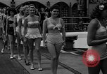 "Image of Grayce Reilly crowned ""Miss Modern Venus"" Coney Island New York USA, 1939, second 10 stock footage video 65675055163"