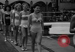 "Image of Grayce Reilly crowned ""Miss Modern Venus"" Coney Island New York USA, 1939, second 11 stock footage video 65675055163"