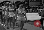 "Image of Grayce Reilly crowned ""Miss Modern Venus"" Coney Island New York USA, 1939, second 12 stock footage video 65675055163"