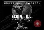 Image of W C Bailey Elgin Illinois USA, 1939, second 1 stock footage video 65675055170