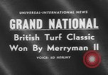 Image of Merryman II race horse Aintree England United Kingdom, 1960, second 1 stock footage video 65675055174