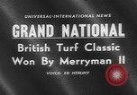 Image of Merryman II race horse Aintree England United Kingdom, 1960, second 2 stock footage video 65675055174
