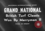 Image of Merryman II race horse Aintree England United Kingdom, 1960, second 3 stock footage video 65675055174
