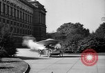 Image of Tri-phibian ornithopter vehicle fire Washington DC USA, 1936, second 7 stock footage video 65675055192