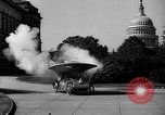 Image of Tri-phibian ornithopter vehicle fire Washington DC USA, 1936, second 8 stock footage video 65675055192
