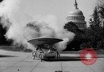 Image of Tri-phibian ornithopter vehicle fire Washington DC USA, 1936, second 9 stock footage video 65675055192