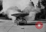 Image of Tri-phibian ornithopter vehicle fire Washington DC USA, 1936, second 10 stock footage video 65675055192