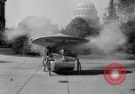 Image of Tri-phibian ornithopter vehicle fire Washington DC USA, 1936, second 11 stock footage video 65675055192