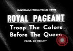 Image of Queen Elizabeth London England United Kingdom, 1960, second 4 stock footage video 65675055195