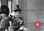Image of Queen Elizabeth London England United Kingdom, 1960, second 11 stock footage video 65675055195