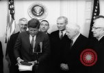 Image of John F Kennedy Washington DC USA, 1962, second 11 stock footage video 65675055198