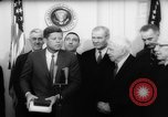Image of John F Kennedy Washington DC USA, 1962, second 12 stock footage video 65675055198