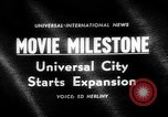 Image of Milton Rackmil Universal City California USA, 1963, second 1 stock footage video 65675055205