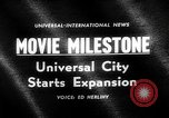 Image of Milton Rackmil Universal City California USA, 1963, second 3 stock footage video 65675055205