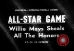 Image of Baseball All-star Game Cleveland Ohio USA, 1963, second 1 stock footage video 65675055206