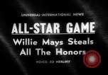 Image of Baseball All-star Game Cleveland Ohio USA, 1963, second 5 stock footage video 65675055206