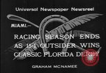 Image of race horse Time Clock Miami Florida USA, 1934, second 2 stock footage video 65675055213