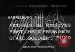 Image of veteran Harrisburg Pennsylvania USA, 1934, second 1 stock footage video 65675055214