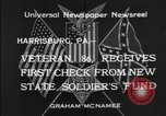 Image of veteran Harrisburg Pennsylvania USA, 1934, second 7 stock footage video 65675055214