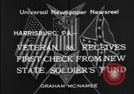 Image of veteran Harrisburg Pennsylvania USA, 1934, second 9 stock footage video 65675055214