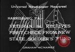 Image of veteran Harrisburg Pennsylvania USA, 1934, second 12 stock footage video 65675055214