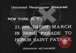 Image of parade New York City USA, 1934, second 3 stock footage video 65675055215