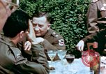 Image of American and Russian Generals Torgau Germany, 1945, second 4 stock footage video 65675055218