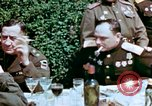 Image of American and Russian Generals Torgau Germany, 1945, second 6 stock footage video 65675055218