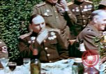 Image of American and Russian Generals Torgau Germany, 1945, second 8 stock footage video 65675055218