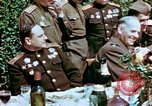 Image of American and Russian Generals Torgau Germany, 1945, second 9 stock footage video 65675055218