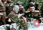 Image of American and Russian Generals Torgau Germany, 1945, second 12 stock footage video 65675055218