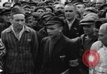 Image of interview of prisoners Dachau Germany, 1945, second 8 stock footage video 65675055226
