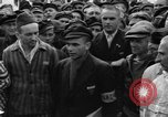 Image of interview of prisoners Dachau Germany, 1945, second 9 stock footage video 65675055226