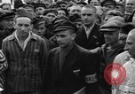 Image of interview of prisoners Dachau Germany, 1945, second 10 stock footage video 65675055226