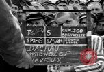Image of interview of prisoners Dachau Germany, 1945, second 4 stock footage video 65675055227