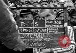 Image of interview of prisoners Dachau Germany, 1945, second 7 stock footage video 65675055227