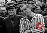 Image of interview of prisoners Dachau Germany, 1945, second 12 stock footage video 65675055227