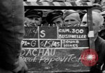 Image of interview of prisoner Dachau Germany, 1945, second 6 stock footage video 65675055228