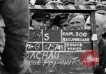 Image of interview of prisoner Dachau Germany, 1945, second 7 stock footage video 65675055228