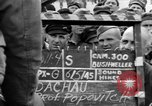 Image of interview of prisoner Dachau Germany, 1945, second 8 stock footage video 65675055228