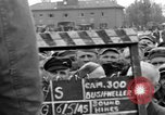 Image of interview of prisoner Dachau Germany, 1945, second 12 stock footage video 65675055228
