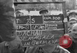 Image of prisoner's interview Dachau Germany, 1945, second 5 stock footage video 65675055229