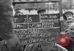Image of prisoner's interview Dachau Germany, 1945, second 6 stock footage video 65675055229