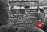 Image of prisoner's interview Dachau Germany, 1945, second 7 stock footage video 65675055229