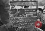 Image of prisoner's interview Dachau Germany, 1945, second 8 stock footage video 65675055229