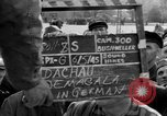 Image of prisoner's interview Dachau Germany, 1945, second 9 stock footage video 65675055229