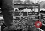 Image of prisoner's interview Dachau Germany, 1945, second 12 stock footage video 65675055229