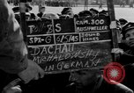 Image of prisoner's interview Dachau Germany, 1945, second 2 stock footage video 65675055230